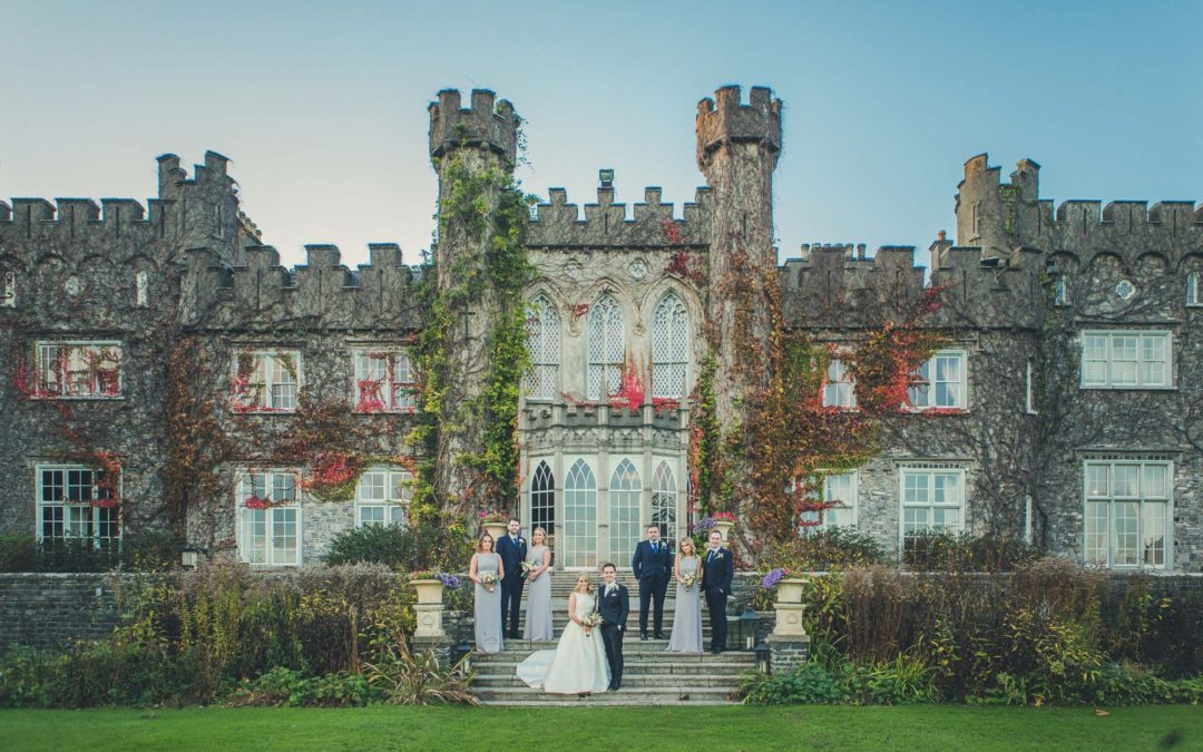 0285 Lustrellstown Castle Wedding