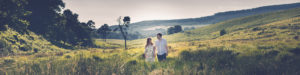 engagement shoot in wicklow mountains