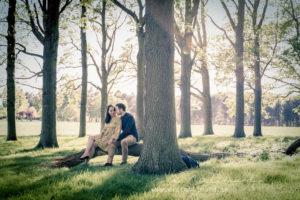 Engagement shoot in Phoenix Park
